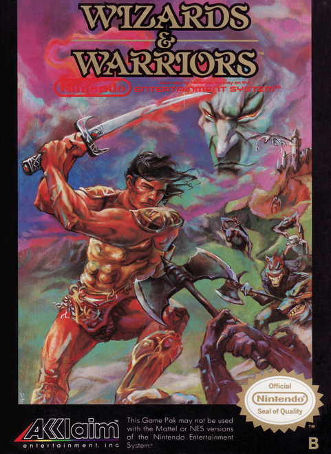Wizards & Warriors - NES - USED (INCOMPLETE)
