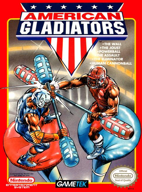 American Gladiators - NES - USED (INCOMPLETE)