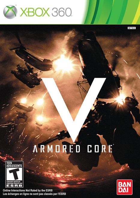 Armored Core V - Xbox 360 - USED