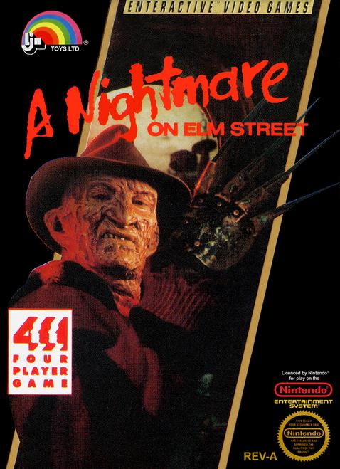 A Nightmare On Elm Street - NES - USED (INCOMPLETE)