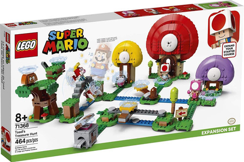 LEGO Super Mario: Toad's Treasure Hunt (464 pcs.) - Expansion Set (71368)