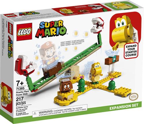 LEGO Super Mario: Piranha Plant Power Slide (217 pcs.) - Expansion Set (71365)