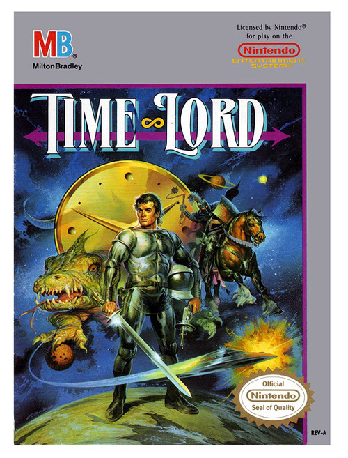 Time Lord - NES - USED (INCOMPLETE)