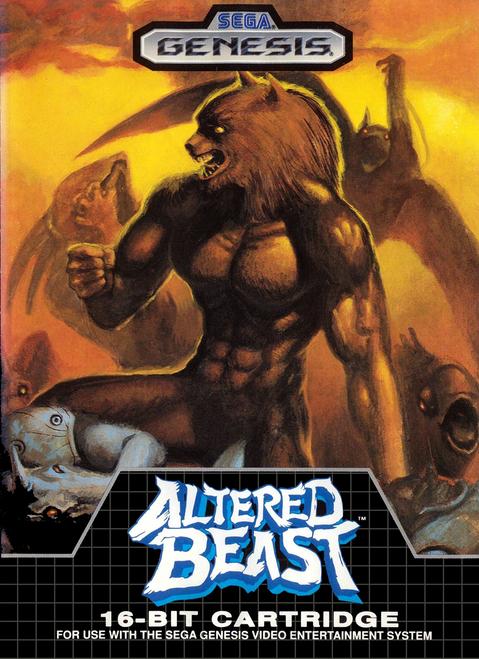 Altered Beast - Sega Genesis - USED (INCOMPLETE)