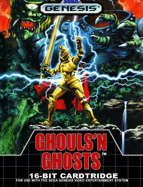 Ghouls'N Ghosts - Sega Genesis - USED (INCOMPLETE)
