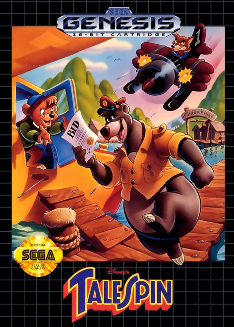 Disney's TaleSpin - Sega Genesis - USED (INCOMPLETE)