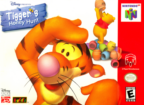 Tigger's Honey Hunt - N64 - USED (INCOMPLETE)