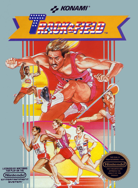 Track & Field - NES - USED (INCOMPLETE)