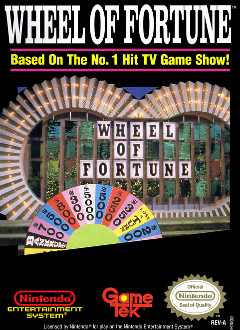 Wheel of Fortune - NES - USED (INCOMPLETE)