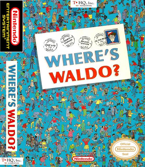 Where's Waldo? - NES - USED (INCOMPLETE)