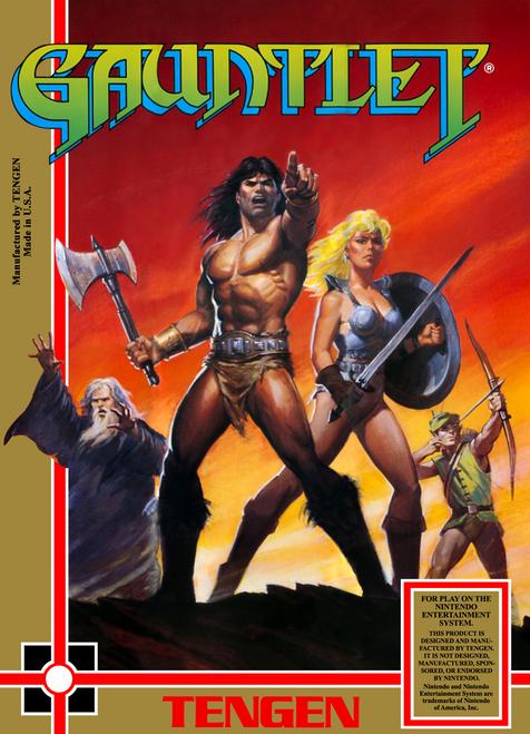 Gauntlet - NES - USED (INCOMPLETE)
