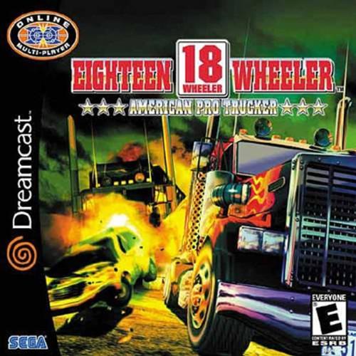 18 Wheeler American Pro Trucker - Dreamcast - USED