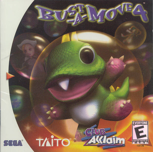 Bust-A-Move 4 - Dreamcast - USED