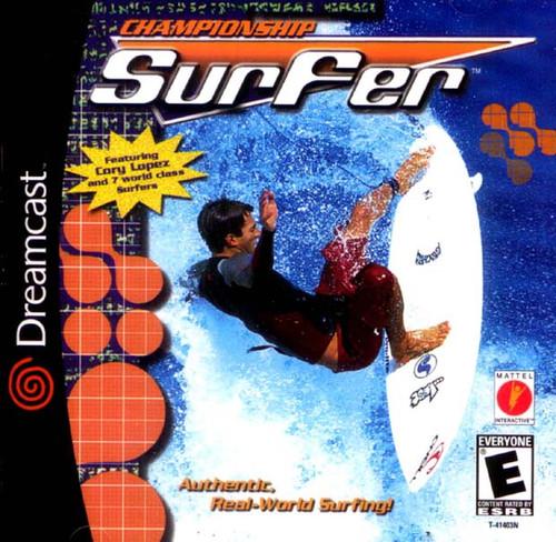 Championship Surfer - Dreamcast - USED