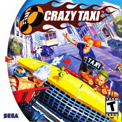 Crazy Taxi - Dreamcast - USED