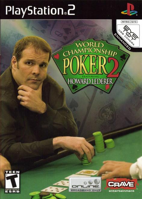 World Championship Poker 2 (Feat. Howard Lederer) - PS2 - USED