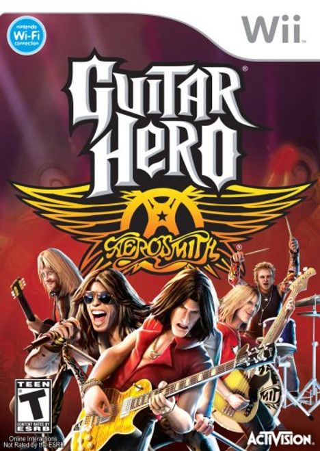 Guitar Hero: Aerosmith - Wii - USED