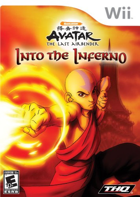 Avatar: The Last Airbender: Into The Inferno - Wii - USED