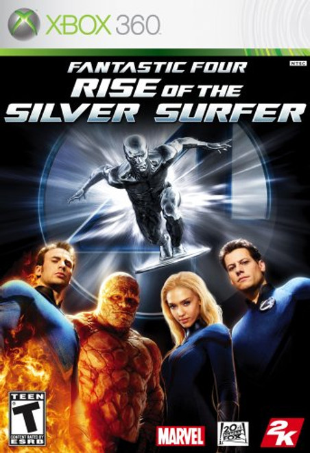 Fantastic Four: Rise of the Silver Surfer - Xbox 360 - USED