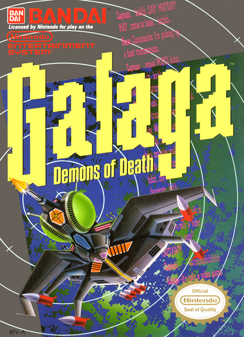 Galaga: Demons of Death - NES - USED (INCOMPLETE)