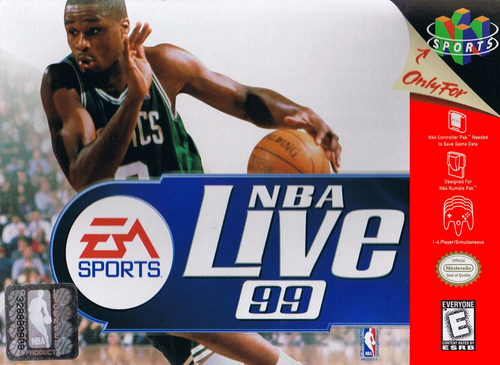 NBA Live 99 - N64 - USED (INCOMPLETE)