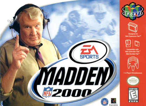 Madden 2000 - N64 - USED (INCOMPLETE)