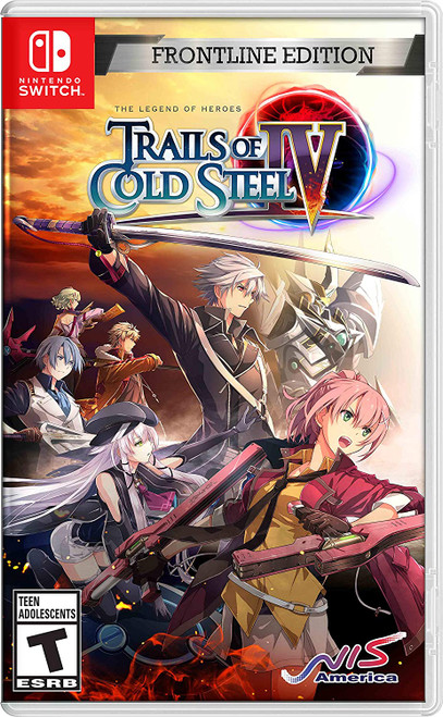 The Legend of Heroes: Trails of Cold Steel IV - Frontline Edition - Switch