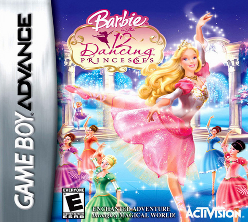 Barbie In The 12 Dancing Princesses - GBA - USED - INCOMPLETE