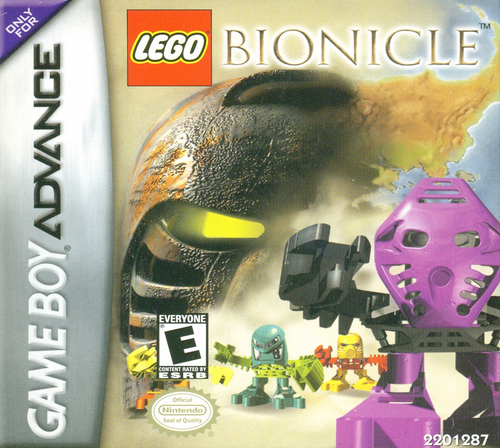 Bionicle - GBA - USED - INCOMPLETE