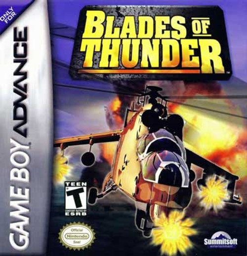 Blades of Thunder - GBA - USED - INCOMPLETE