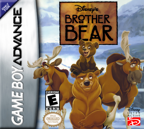 Brother Bear - GBA - USED - INCOMPLETE