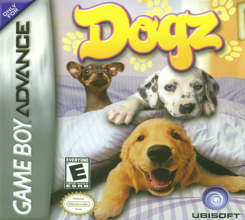 Dogz - GBA - USED - COMPLETE