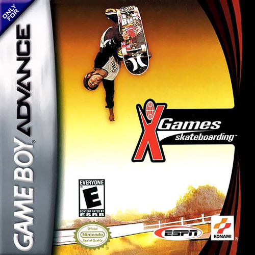 ESPN X Games Skateboarding - GBA - USED - INCOMPLETE