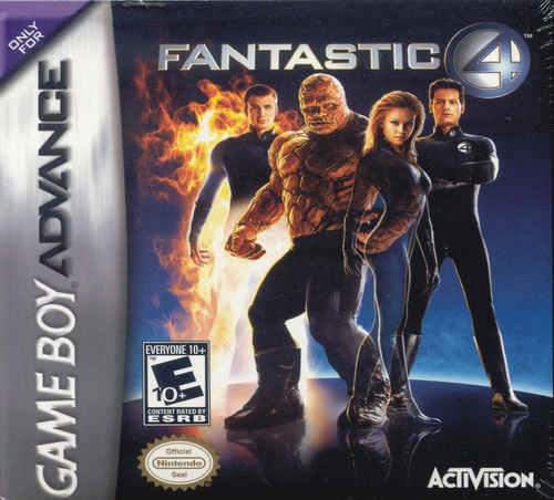 Fantastic 4 - GBA - USED - INCOMPLETE