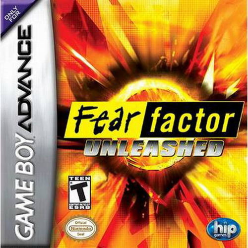 Fear Factor Unleashed - GBA - USED - INCOMPLETE