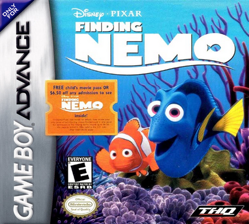 Finding Nemo - GBA - USED - COMPLETE