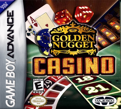 Golden Nugget Casino - GBA - USED - INCOMPLETE