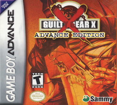 Guilty Gear X Advance Edition - GBA - USED - INCOMPLETE
