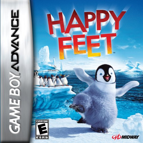 Happy Feet - GBA - USED - INCOMPLETE