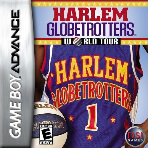 Harlem Globetrotters World Tour - GBA - USED - INCOMPLETE
