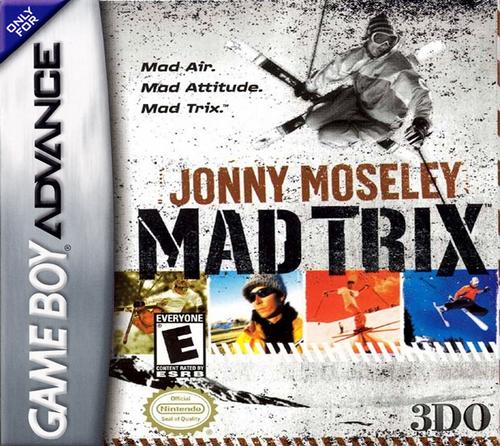 Jonny Moseley Mad Trix - GBA - USED - INCOMPLETE