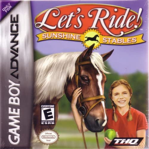 Let's Ride Sunshine Stables - GBA - USED - INCOMPLETE
