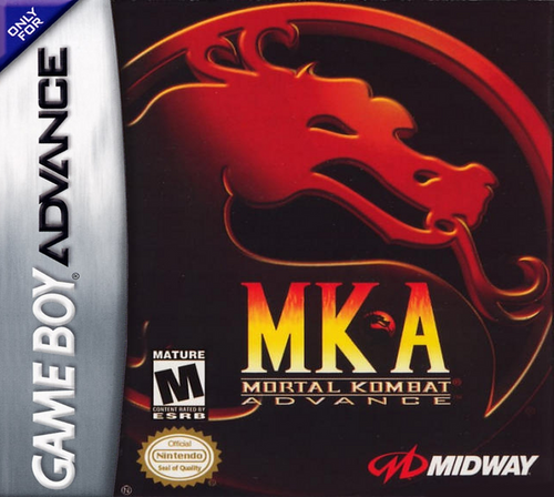 Mortal Kombat Advance  - GBA - USED - INCOMPLETE
