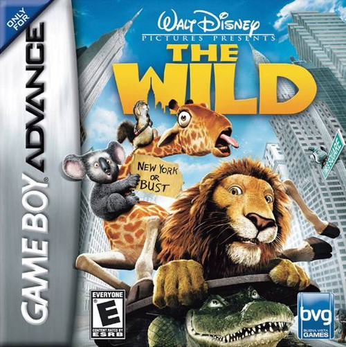 The Wild - GBA - USED - INCOMPLETE