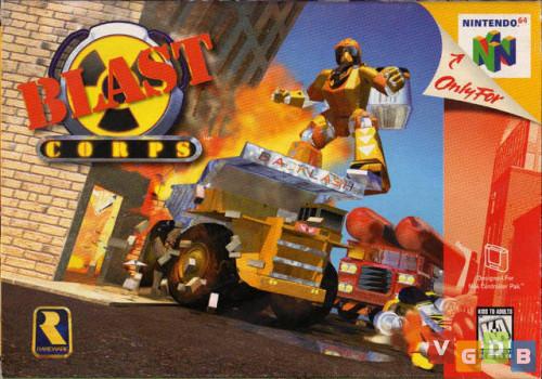 Blast Corps - N64 - USED - INCOMPLETE