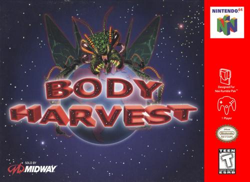 Body Harvest - N64 - USED - INCOMPLETE