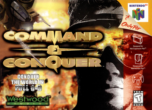 Command & Conquer - N64 - USED - INCOMPLETE