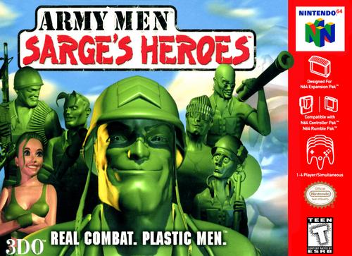 Army Men Sarge's Heroes - N64 - USED (INCOMPLETE)