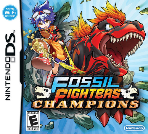 Fossil Fighters Champions - DS - USED - COMPLETE