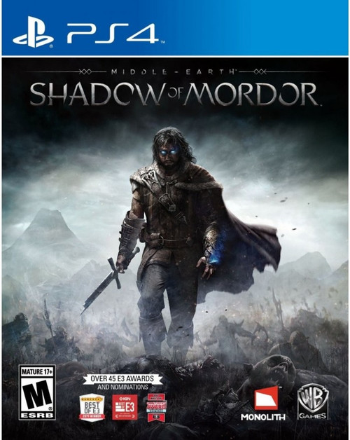 Middle Earth: Shadow of Mordor - PS4 - NEW